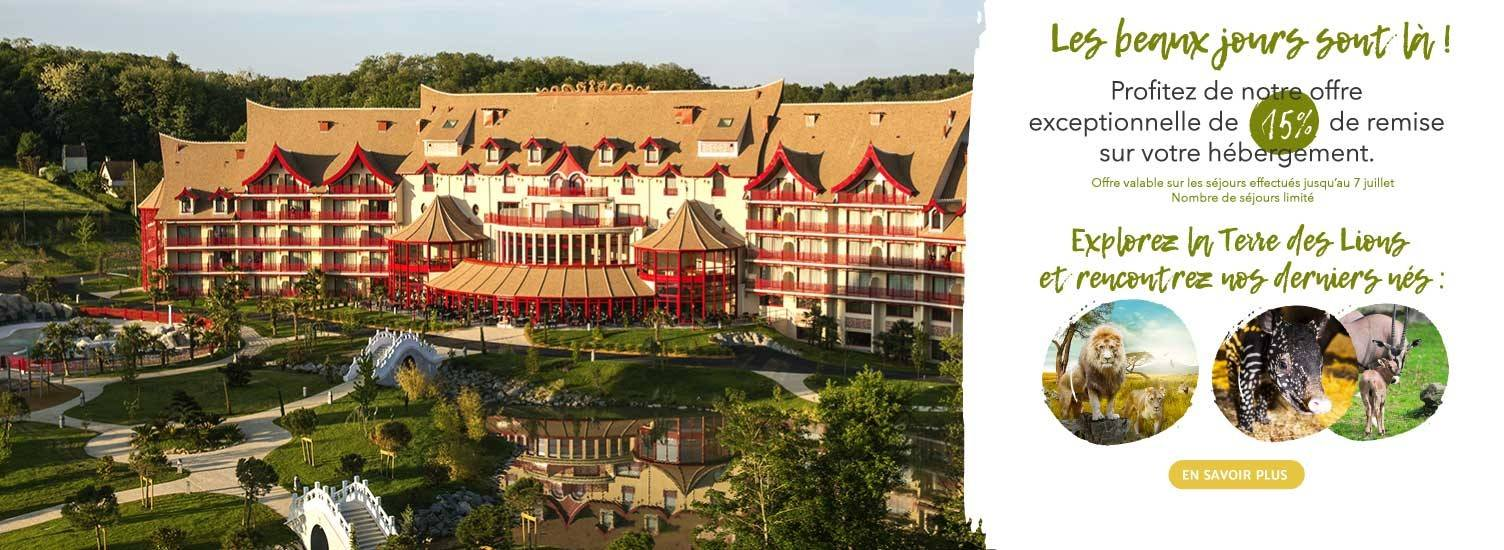 Offre 'Les beaux jours' - Les hôtels de Beauval - ZooParc de Beauval