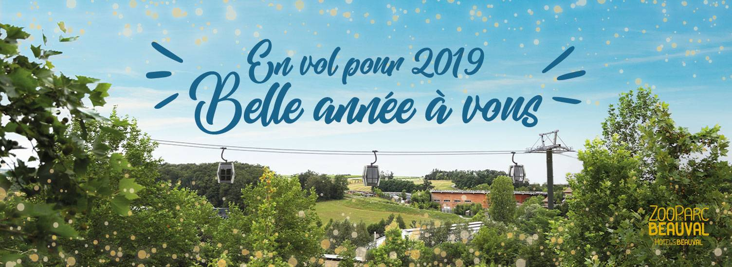 Bonne année 2019 ! - ZooParc de Beauval