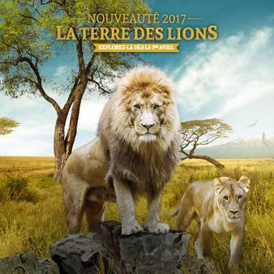 La Terre des Lions - ZooParc de Beauval
