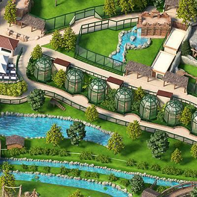 Plan du ZooParc - ZooParc de Beauval