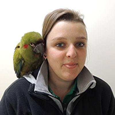 Amélie Rey - Co-responsable du secteur oiseaux - ZooParc de Beauval