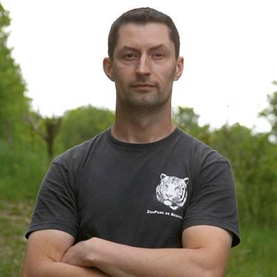Yann Ménager - Responsable du secteur éléphants - ZooParc de Beauval