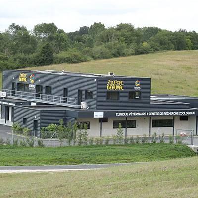 la nouvelle clinique vétérinaire - ZooParc de Beauval