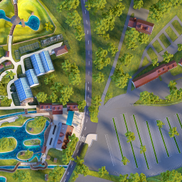 Plan du zoo de Beauval