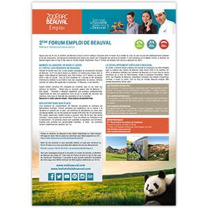 2ème forum emploi de beauval