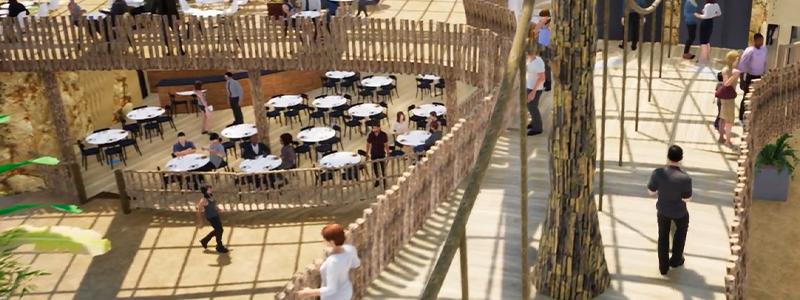 El Tuparro - Restauration - ZooParc de Beauval