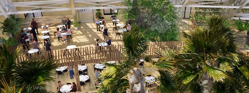 Le Kalatungan - Restauration - ZooParc de Beauval