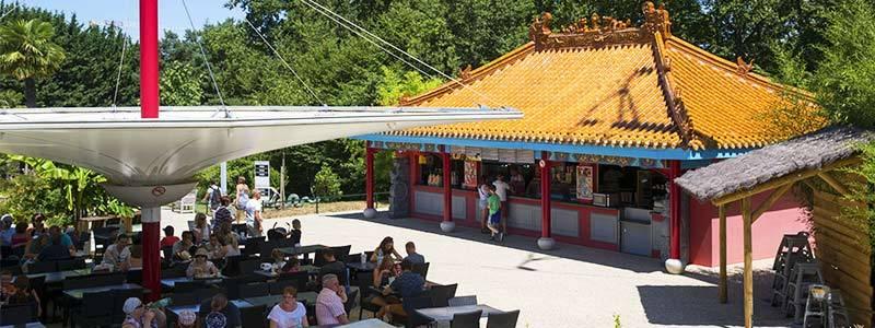 Les Bambous - Restauration - ZooParc de Beauval