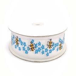 Лента декоративная «Пчелки»