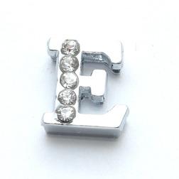 Бусины с буквами для наборных браслетов «Алфавит»