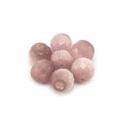 Бусины для браслетов Шамбала из натуральных камней