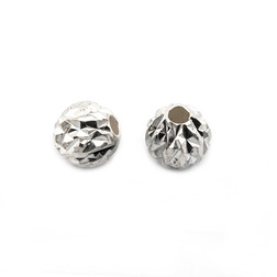 Бусины из серебра для браслетов Шамбала